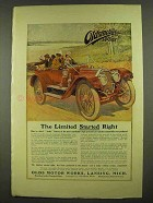 1912 Oldsmobile Limited Car Ad - Started Right