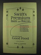 1911 Swift's Premium Hams and Bacon Ad