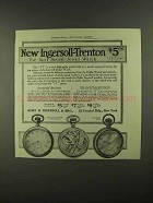 1909 Ingersoll-Trenton Dollar Watch Ad - Seven Jewel