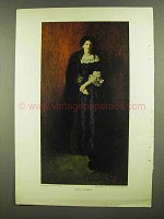 1908 Diana Sherley Illustration - Howard Pyle Painting