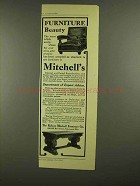1908 Robert Mitchell Furniture Ad - Beauty