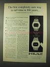 1972 Pulsar Watch Ad - New Way To Tell Time