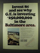 1972 Baltimore Gas & Electric Ad - Why G.E. Investing
