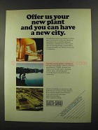 1972 Baltimore Gas & Electric Ad - Your New Plant