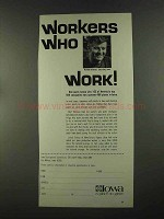 1972 Iowa Development Commission Ad - Workers Work