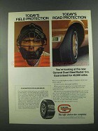 1972 General Dual-Steel Radial Tire Ad - Protection