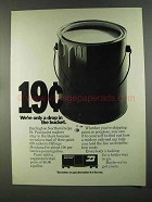 1972 Burlington Northern Railroad Ad - Drop in Bucket