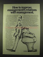 1972 Xerox Learning Systems Ad - Management