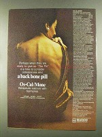 1972 Marion Laboratories OS-Cal-Mone Ad - Backbone