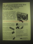 1972 Winchester Upland Shot Shells Ad - Game Hunter