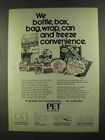 1972 Pet Incorporated Ad - Bottle, Box, Bag, Wrap