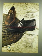 1972 Johnston & Murphy Easthampton & Georgian Shoes Ad