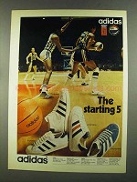 1972 Adidas Shoes Ad - Superstar Promodel Americana