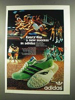 1972 Adidas Shoes Ad - Every Day A New Success