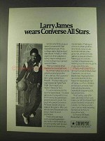 1972 Converse All Star Basketball Shoes Ad