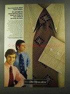 1972 Sears The-Comfort-Shirt Ad - Wear Button Down