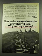1972 St. Regis Paper Ad - Underdeveloped Countries