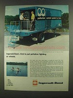1972 Ingersoll-Rand Impco Pollution Control System Ad