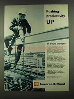 1972 Ingersoll-Rand Tools Ad - Pushing Productivity Up