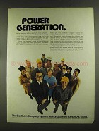 1972 The Southern Company Ad - Power Generation