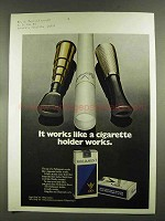 1972 Parliament Cigarettes Ad - Like a Holder Works