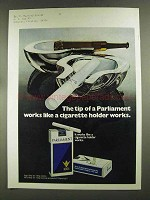 1972 Parliament Cigarettes Ad - The Tip Of