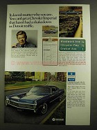 1972 Chrysler Imperial Car Ad - Arthur Godfrey