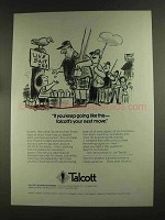 1972 Talcott Business Finance Ad - Keep Going Like This