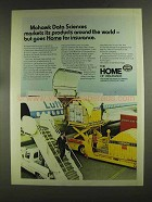 1972 The Home Insurance Ad - Mohawk Data Sciences