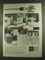1972 General Electric Credit Corporation Ad - Computers