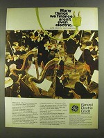1972 G.E. Credit Corporation Ad - Musical Instruments
