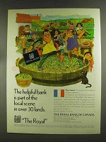 1972 The Royal Bank of Canada Ad - The Helpful Bank