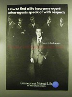 1972 Connecticut Mutual Life Ad - Other Agents