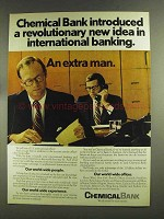 1972 Chemical Bank Ad - A Revolutionary New Idea