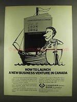 1972 Canadian Imperial Bank of Commerce Ad - Launch