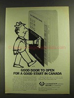 1972 Canadian Imperial Bank of Commerce Ad - Good Door