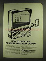 1972 Canadian Imperial Bank of Commerce Ad - Venture