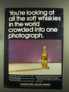 1972 Calvert Extra Whiskey Ad - All the Soft Whiskies