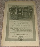 1914 Victor Victrola Ad w/ Caruso, Setti, Rothier NICE!