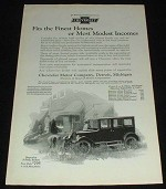 1923 Chevrolet Superior 5-Passenger Sedan Ad!