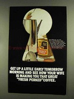 1972 Taster's Choice Freeze-Dried Coffee Advertisement