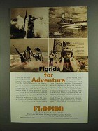 1972 Florida Tourism Ad - For Adventure