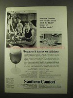1972 Southern Comfort Ad - Outsells All But 44