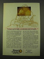 1972 Mutual of Omaha Ad - To Have and To Hold