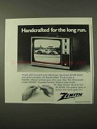 1972 Zenith Shreveport Model C2009W Television Ad