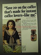 1972 Maxwell House Coffee Ad - Terre Thomas