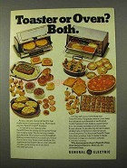 1972 General Electric Toast-R-Oven Toasters Ad