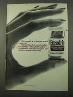1972 Excedrin Pain Reliever Ad - Best You Can Buy