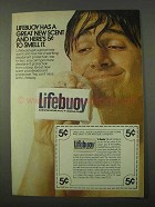 1972 Lifebuoy Soap Ad - Great New Scent