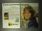 1972 Miss Clairol Hair Color Ad - To Know You're Best